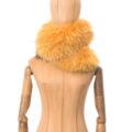 Cuello grande de marmota finlandesa color amarillo